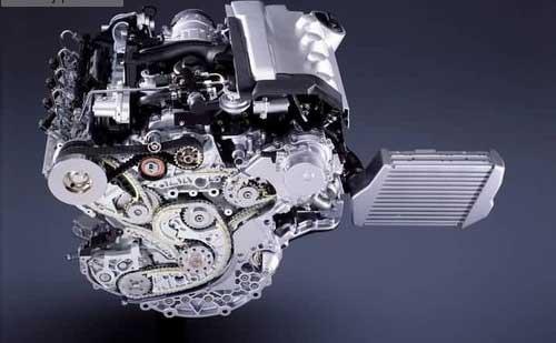 发动机润滑系统