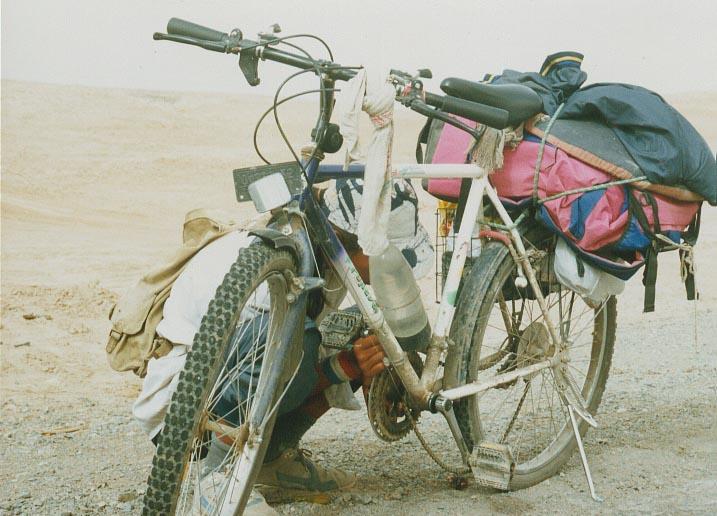 自行车掉链子怎么办图解