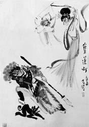 西游记二郎神救母_哮天犬(神话传说中二郎神身边的神兽) - 搜狗百科