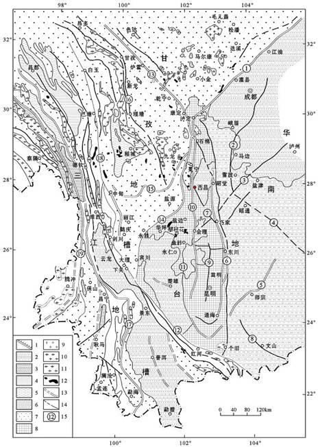 深大附中手绘地图