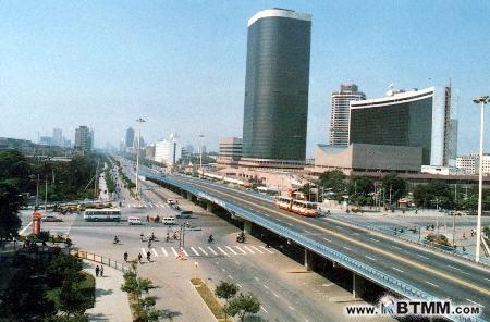 80年代后,为朝阳区公共汽车大型起始站和编组站.