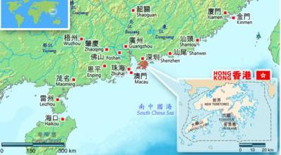 香港的地理位置_香港地理
