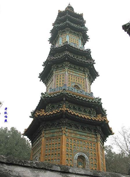 多宝琉璃塔