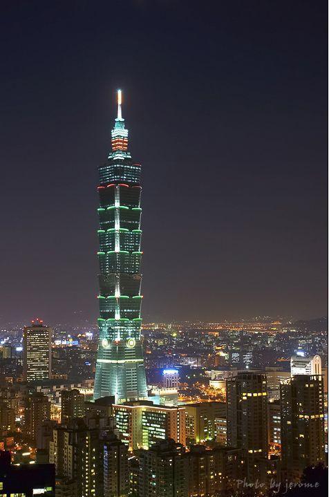 结构而非摩天大楼,因此台北101仍能暂时保有世界最高