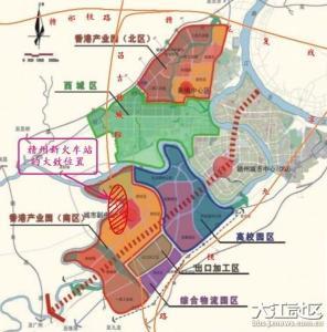 赣州新火车站规划图