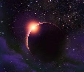 梦见日月食放光芒