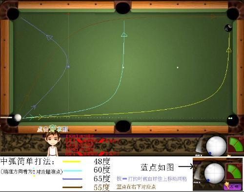 乐百家手机版:台球开球技巧但需掌握好球杆推