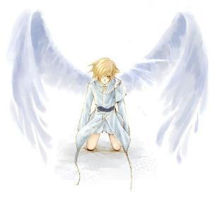 手绘天使安琪儿