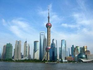 上海明珠塔图片