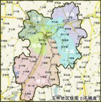 玉林地图图片
