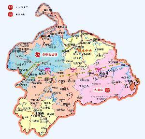 咸宁崇阳县地图