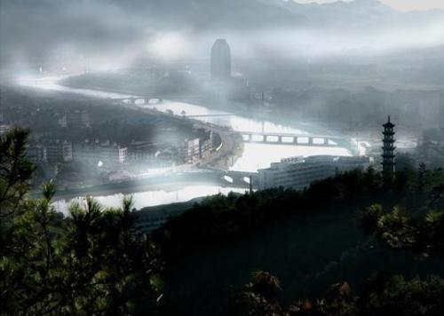 横店 横店影视城,位于中国横店境内,为国家AAAAA级旅游区,...