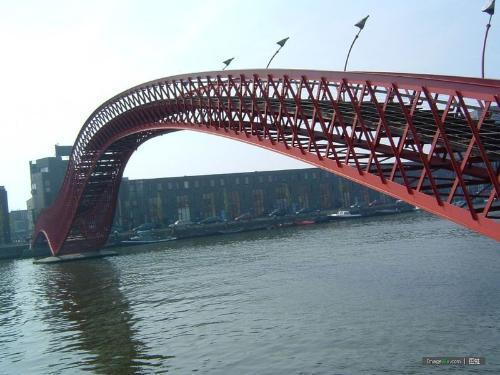 古代桥梁矢量图