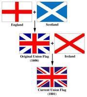 英国国旗简笔画图片图片大全