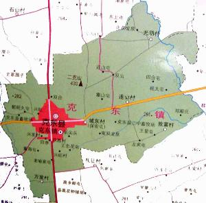 黑龙江讷河市地图