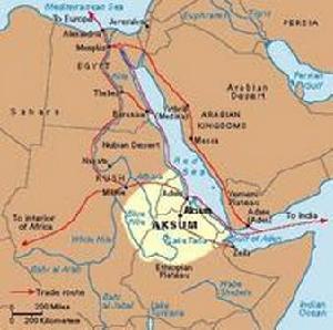 索马里半岛地形图