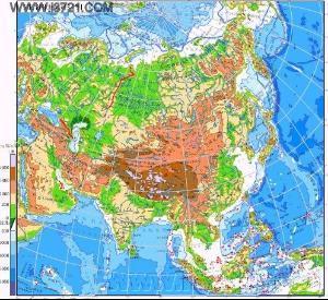 亚洲地形囹�b���_亚洲地形;大陆东侧和东南侧有世界上规模什么 什么的呈弧形排列的群岛