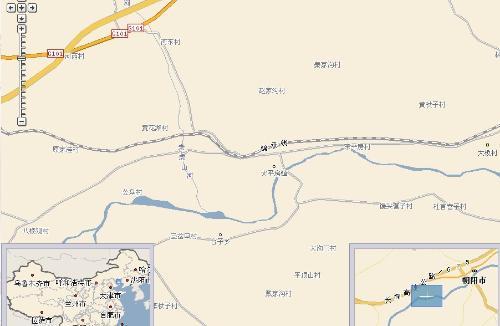 辽宁朝阳市朝阳县地图