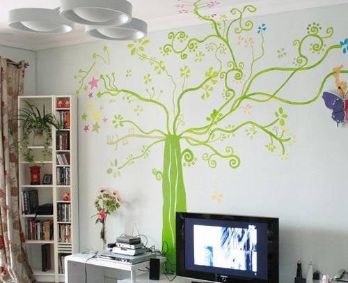 全部版本 历史版本  手绘墙画(即墙绘)是未来居家装饰的潮流.