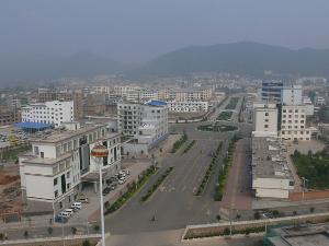 贵州威宁县城图片 》