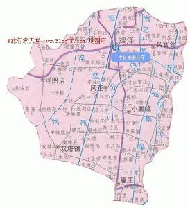 临漳县城区规划图