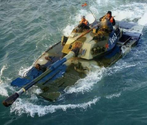 中国63a水陆两栖坦克