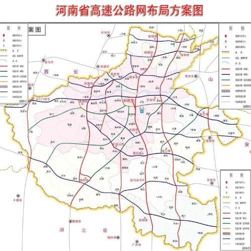 郑州高速地图全图