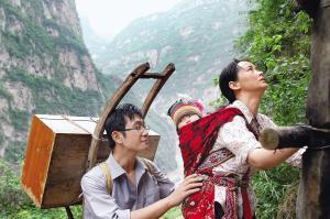 """《感动中国》""""十大人物之一,甘洛县二坪村山村教师李桂林,陆建芬夫妇图片"""