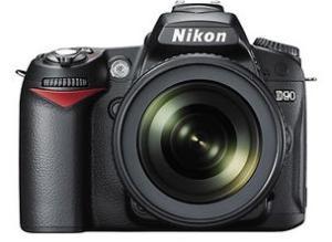 用尼康d90相机怎么样能让照片上显示出拍照的日期图片