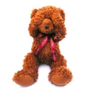 微笑绽放在心灵深处…… 超可爱的小熊,抱着这个小可爱入睡,很香很甜