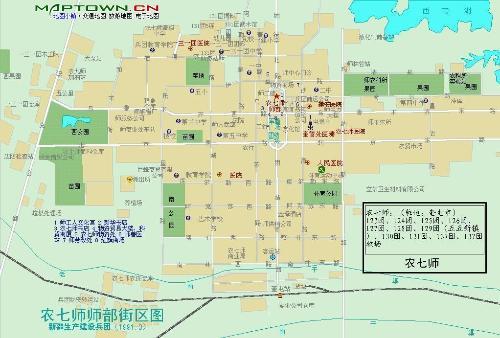 师境内屯垦分布在奎屯图片