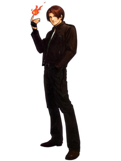 草薙京(KYO KUSANAGI),著名格斗游戏《拳皇》系列的主角,他... 草薙京