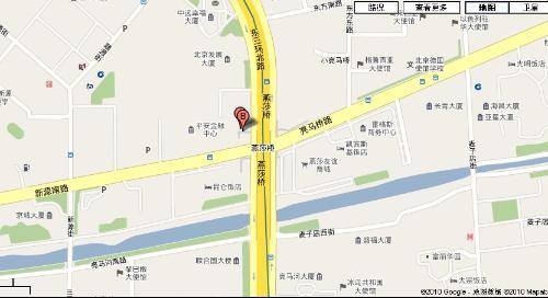金茂北京威斯汀大饭店地图位置