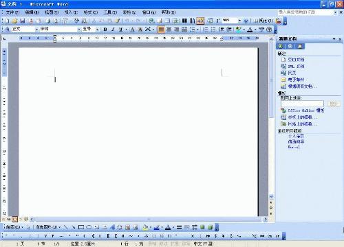 word2003页面图片
