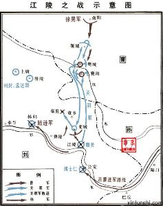 江陵之战 东汉末年针对荆州的作战