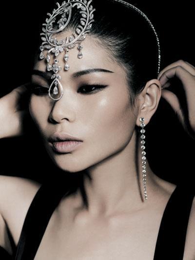 吕燕(中国名模)图片