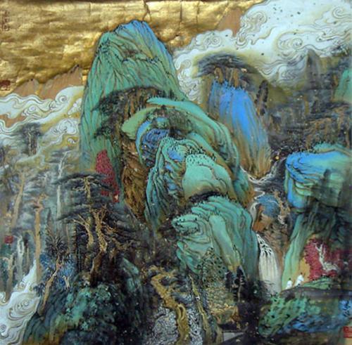 现代中国画 - 搜搜百科图片