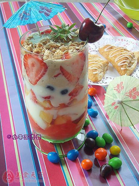 水果杯,饮料,甜香清爽