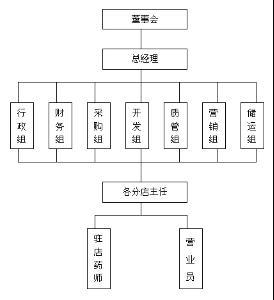 小公司管理层结构图