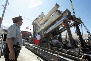 智利圣何塞铜矿坍塌乱