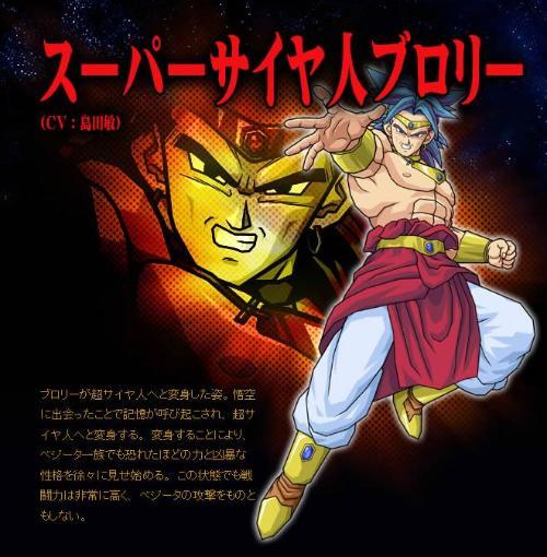 Dragon Ball Z Broly : 紫 黄色 : すべての講義