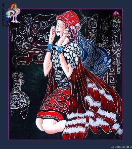 傣族蜡染艺术是世代相传