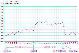 女性体温变化曲线图_体温监测 - 搜狗百科