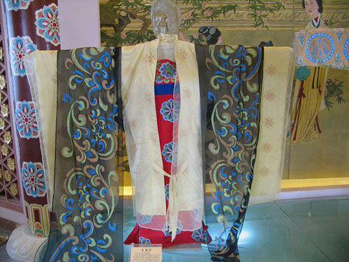 中国古代女子服饰图图片大全 一张名为 中国历代女子服饰变图片