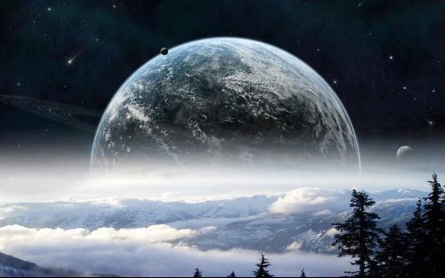 关于月球的手抄报