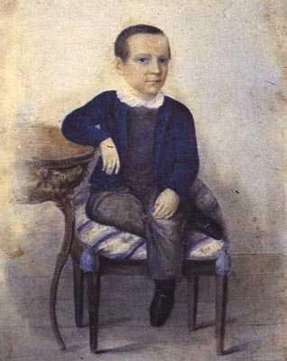 7岁时的屠格涅夫