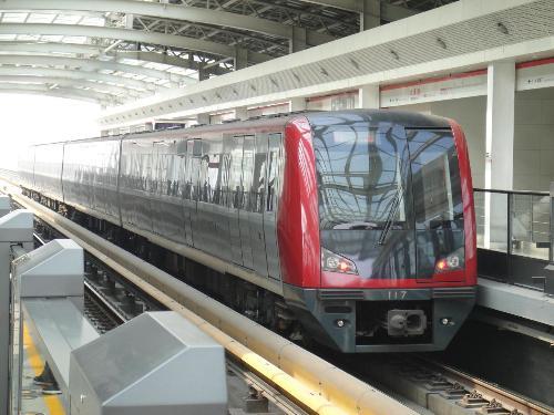 天津地鐵一號線圖片