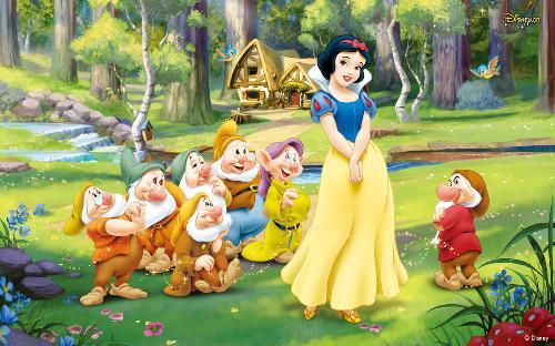 白雪公主和七个小矮人带你走进