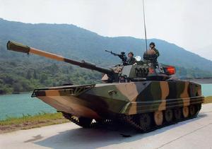 中国03p型水陆坦克