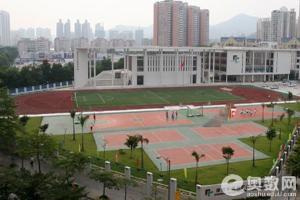 深圳外国语学校(初中部在深圳的)和福田初中外作文在我a学校百合心中图片
